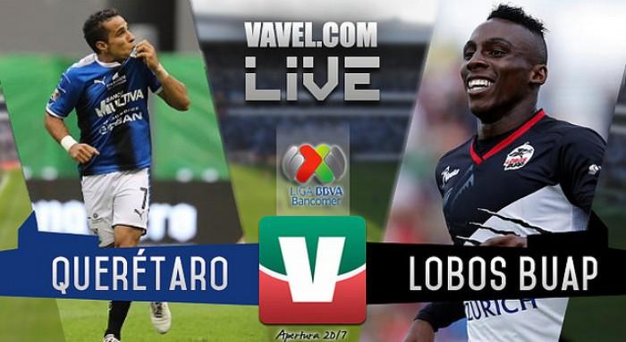 Resultado y goles del Querétaro 0-4 Lobos BUAP de la Liga MX 2017
