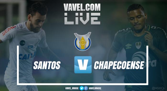 Resultado Santos x Chapecoense Pelo Campeonato Brasileiro 2017 (1-0)