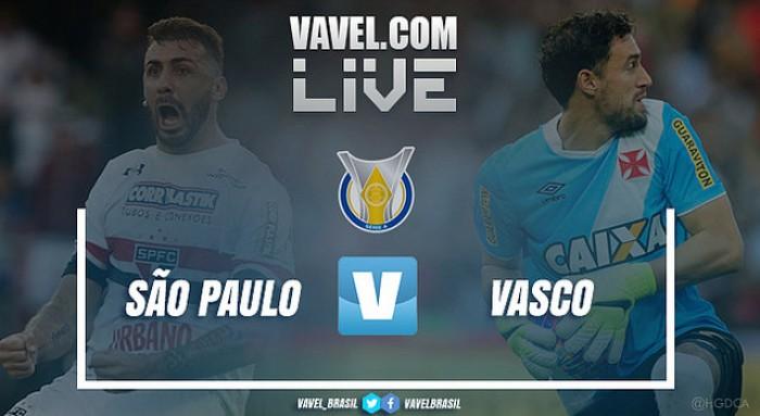 Resultado São Paulo x Vasco pelo Campeonato Brasileiro 2017 (1-0)