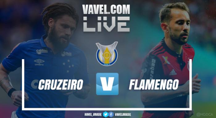 Resultado Cruzeiro x Flamengo pelo Campeonato Brasileiro 2017 (1-1)