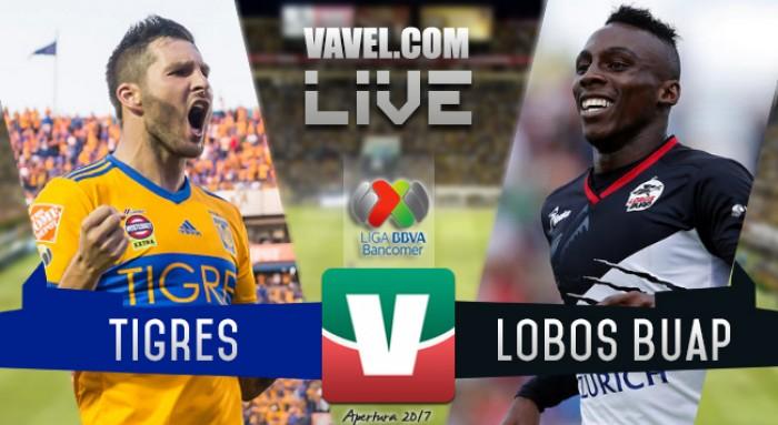 Resultado y goles del Tigres 3-2 Lobos BUAP en la Liga MX 2017