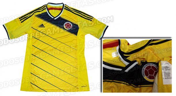 Polémica por la camiseta de Colombia para 2014