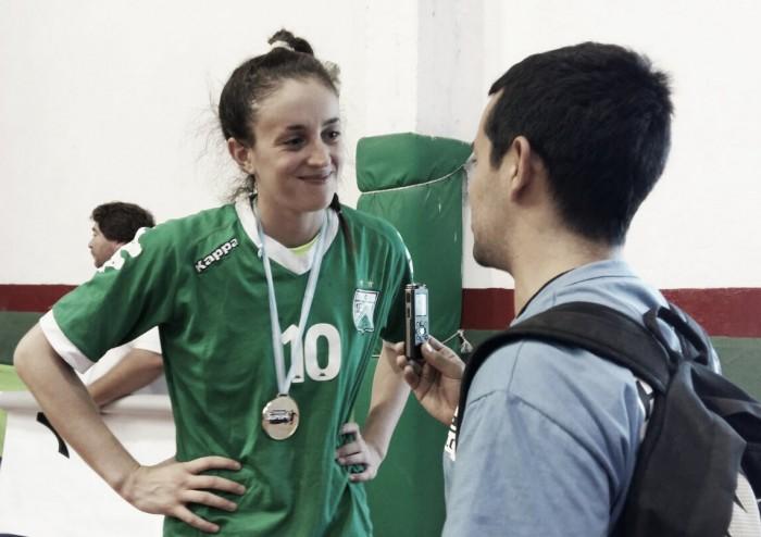 """Victoria Crivelli: """"Es hermoso hacer historia con este grupo y camiseta"""""""