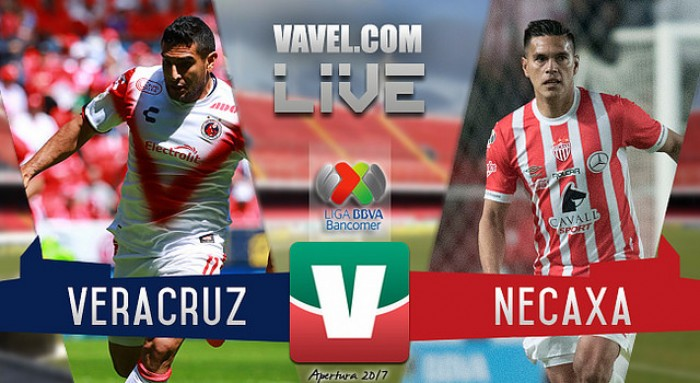 Resultado y goles del Veracruz 0-2 Necaxa de la Liga MX 2017