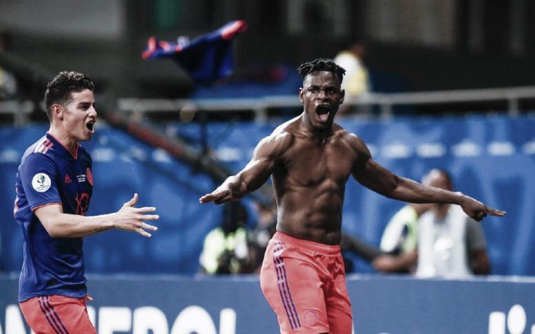 James dita o ritmo e Colômbia mostra repertório ofensivo em busca do bi da Copa América