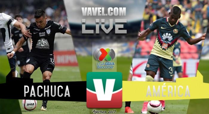 Resultado y goles del América 2-2 Pachuca en la Liga MX 2018