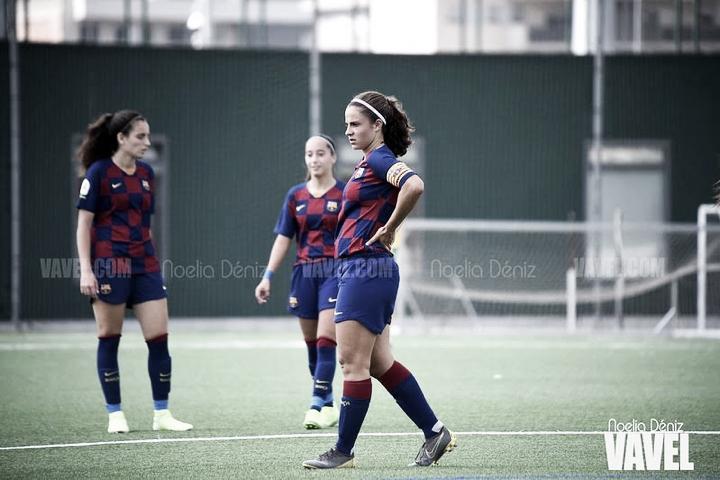 El Barça B femenino conquista el tercer puesto del Reto Iberdrola