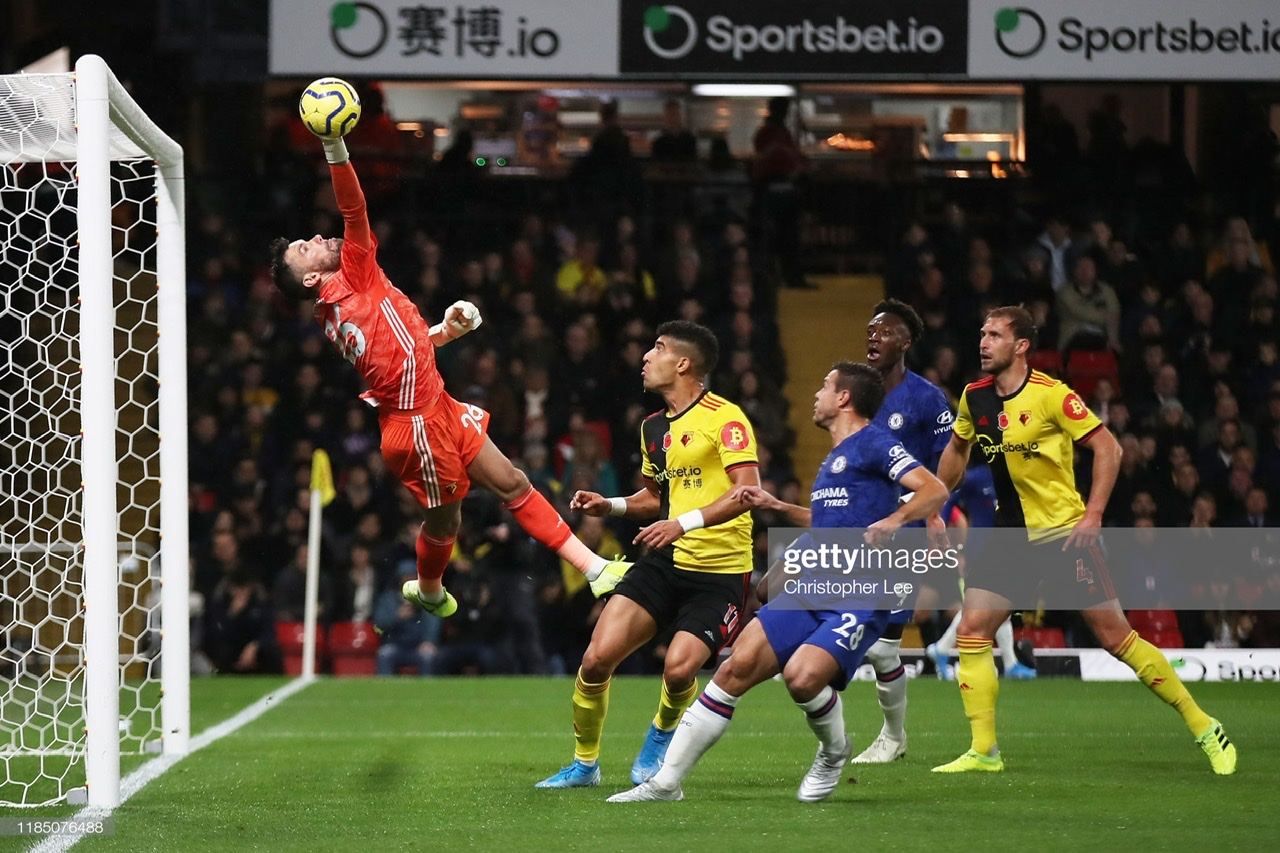 Watford 1-2 Chelsea: Visitors swagger to victory