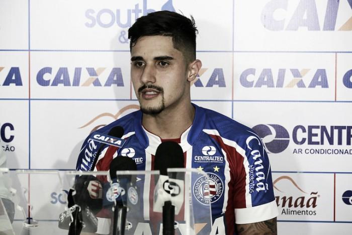"""Zagueiro Thiago Martins promete empenho no Bahia: """"Vou me adaptar mais rápido possível"""""""