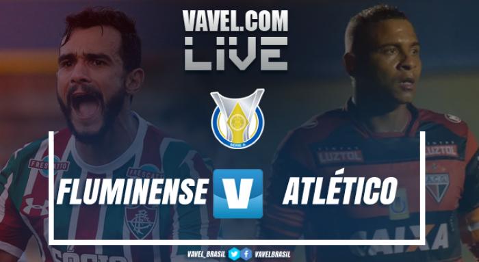 Resultado Fluminense 3x1 Atlético-GO no Campeonato Brasileiro 2017