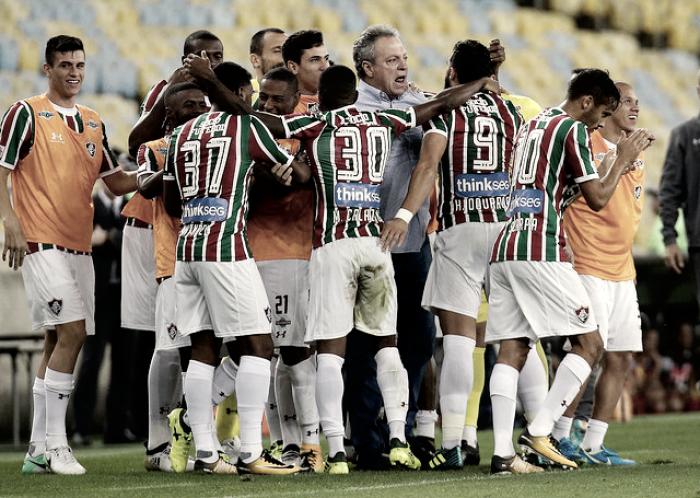 Em noite de homenagens a Abel, Flu vence Atlético-GO no Maracanã e encerra jejum como mandante
