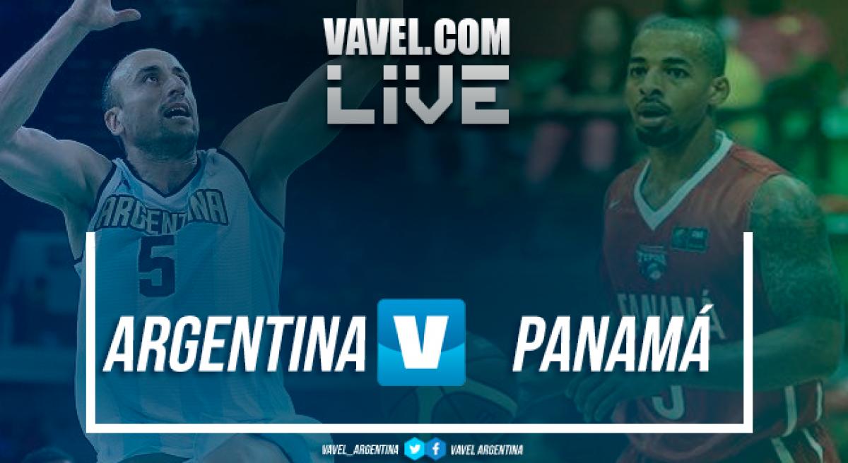 Resumen Argentina 87-62 Panamá en las Eliminatorias FIBA 2018