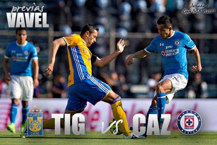Previa Tigres - Cruz Azul: El regreso del Tigre a la Copa
