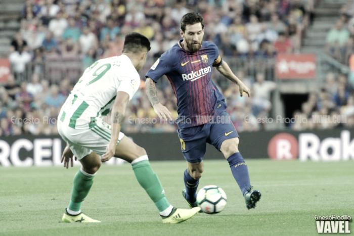 Real Betis - FC Barcelona: puntuaciones FC Barcelona, jornada 20 de la Liga Santander