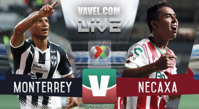 Resultado y goles del Monterrey 1-0 Necaxa de la Liga MX Apertura 2017
