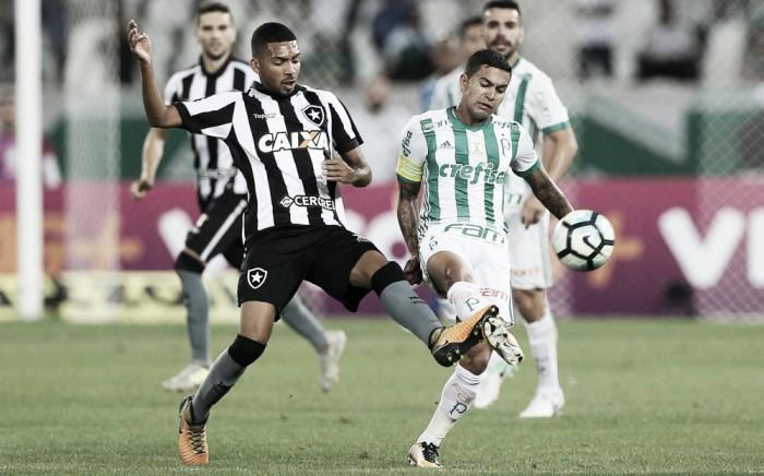 Resultado: Palmeiras vence Botafogo no Brasileirão 2017 (2-0)