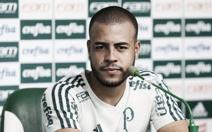 """Recuperado de lesão, Mayke espera continuar evoluindo no Palmeiras: """"Estou no caminho certo"""""""