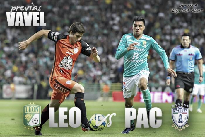 Previa León - Pachuca: a confirmar el repunte