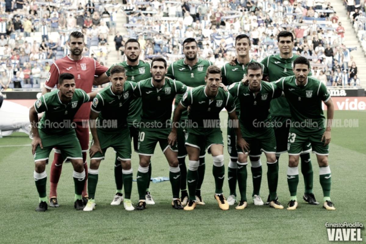 La falta de gol en el Leganés