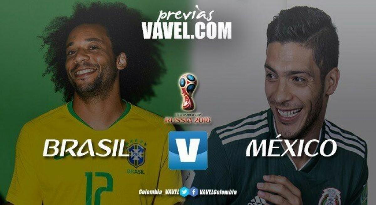 Brasil - México: un juego que tendrá mucho fuego