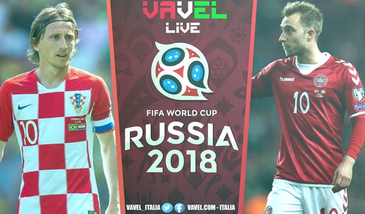 Croazia - Danimarca in diretta, LIVE Mondiali Russia 2018 (1-1): Strepitoso Subasic ai rigori croati ai quarti!