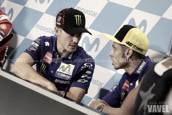 """Rossi: """"Si Yamaha nos da una buena moto, tanto a Viñales como a mí nos irá bien"""""""