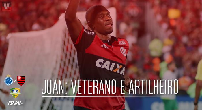 Veterano e artilheiro: o simbolismo e a trajetória de Juan com a camisa do Flamengo