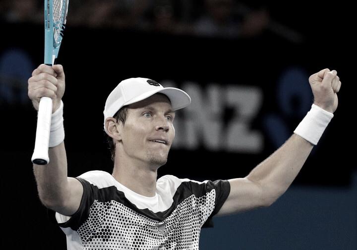 Berdych, a cuarta ronda del Australian Open