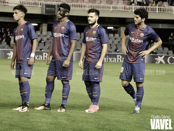 FC Barcelona B - Real Oviedo: duelo de alturas en el Mini