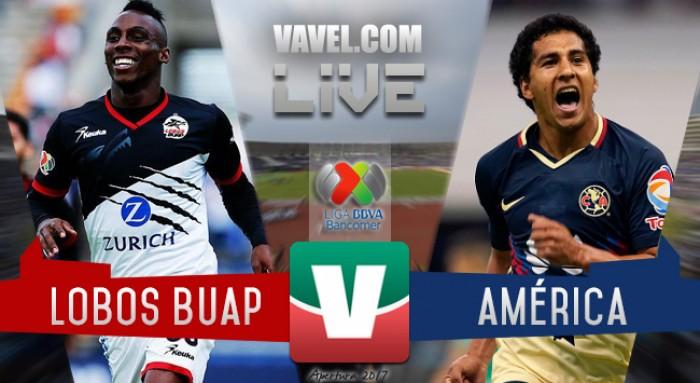 Resultado y goles del Lobos BUAP 2-3 América de la Liga MX