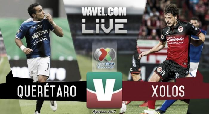 Gallos Blancos caen 3-1 ante Xolos en el estadio Corregidora