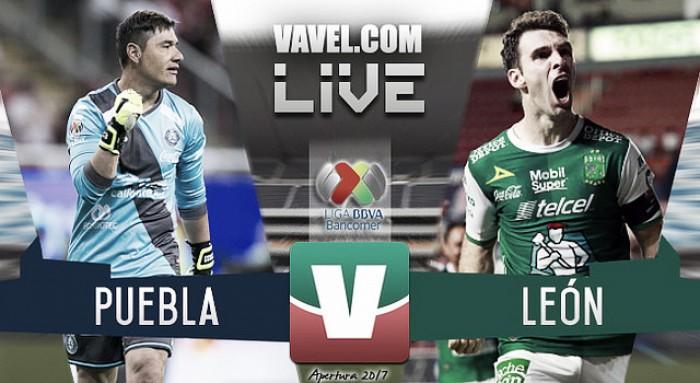 Resultado y gol del Puebla vs León en Liga MX (0-1)