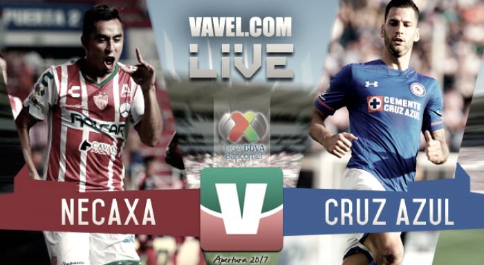 Resultado y goles del Necaxa 1-0 Cruz Azul de la Liga MX 2017