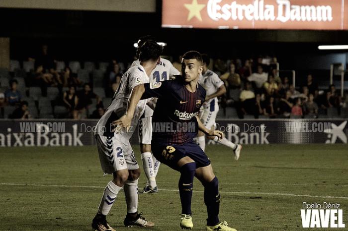 FC Barcelona B vs CD Tenerife: puntuaciones jornada 2 liga 123