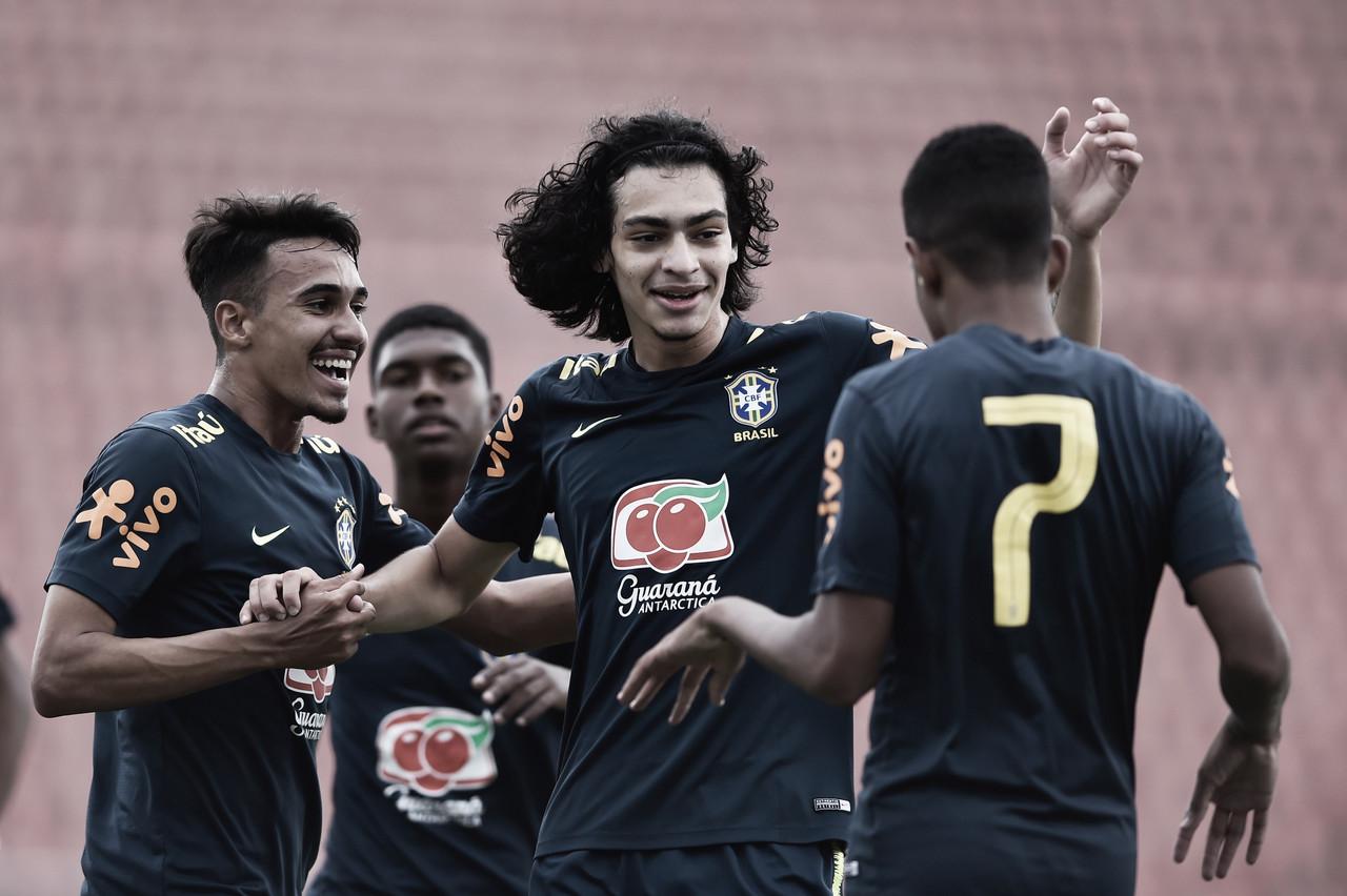 Seleção Brasileira Sub-17 tem seis baixas no elenco por Covid-19