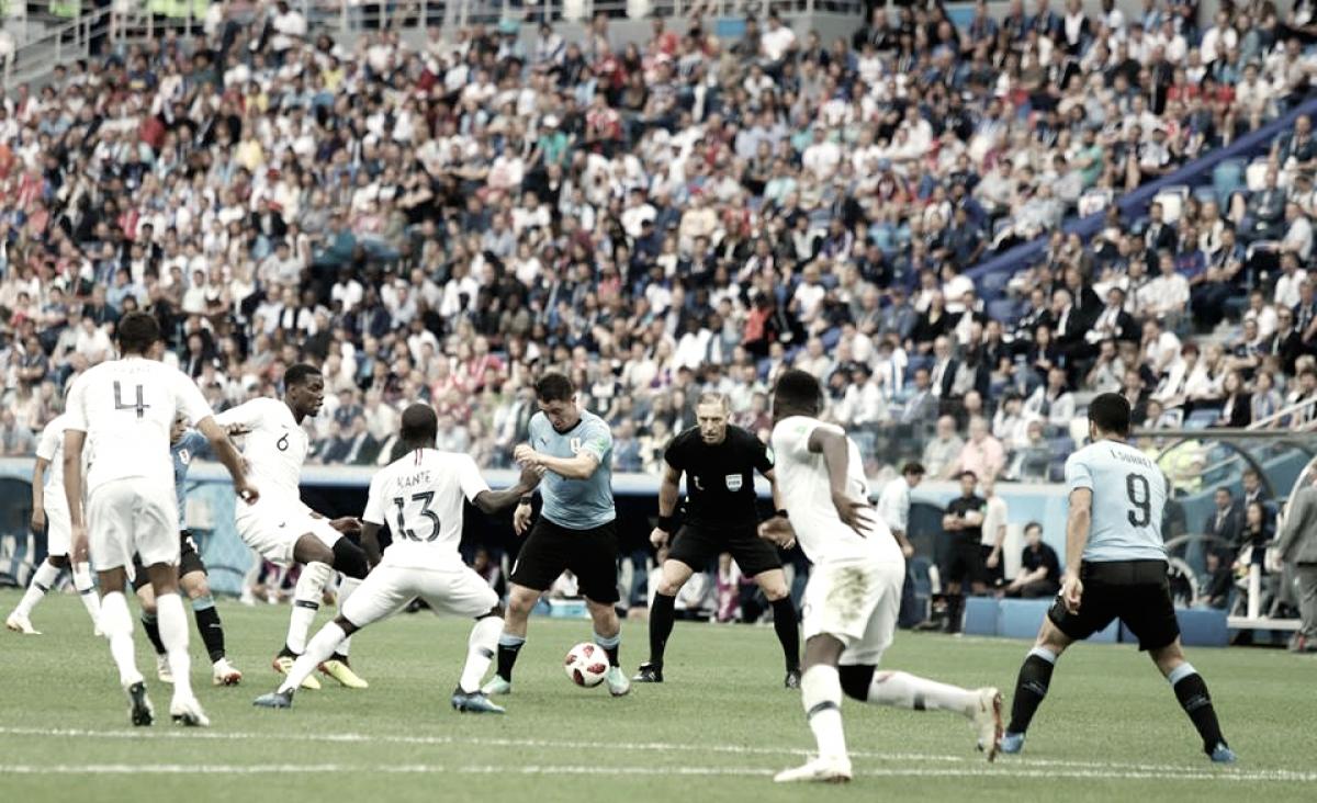 La contracrónica: Uruguay se topó con Francia