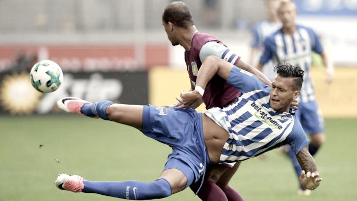 Hertha Berlin conquista vice em torneio amistoso depois de ser derrotado pelo Aston Villa