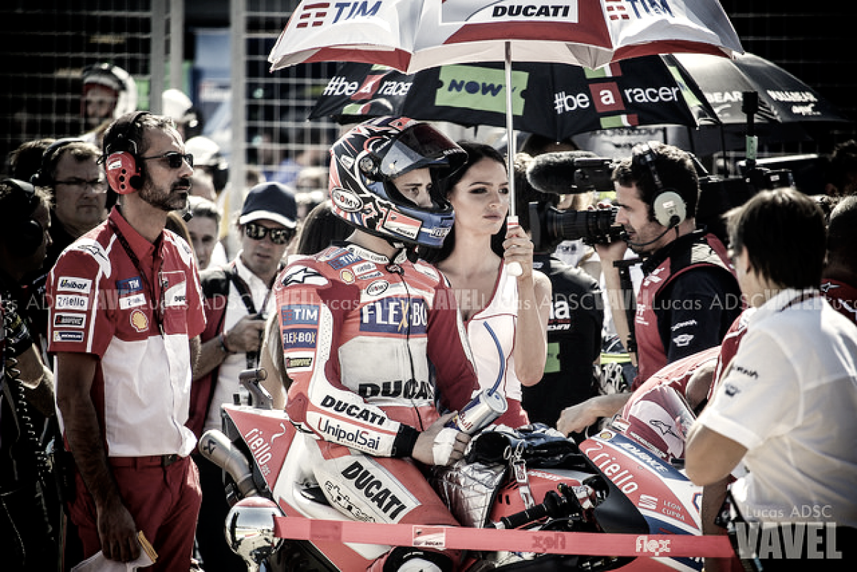 """Andrea Dovizioso: """"Estoy contento con ser el pilar de Ducati"""""""