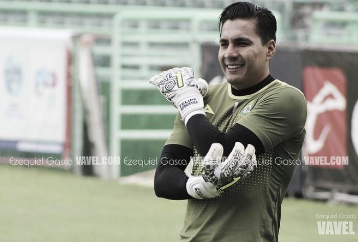 Le llegó la hora a Felipe Rodríguez