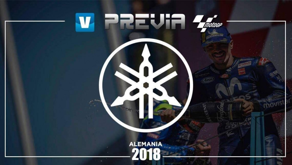 Previa Yamaha GP de Alemania: objetivo, la victoria