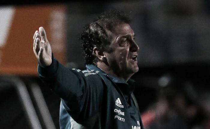 """Cuca admite queda de rendimento por ceder empate ao Bahia: """"Não mantivemos intensidade"""""""