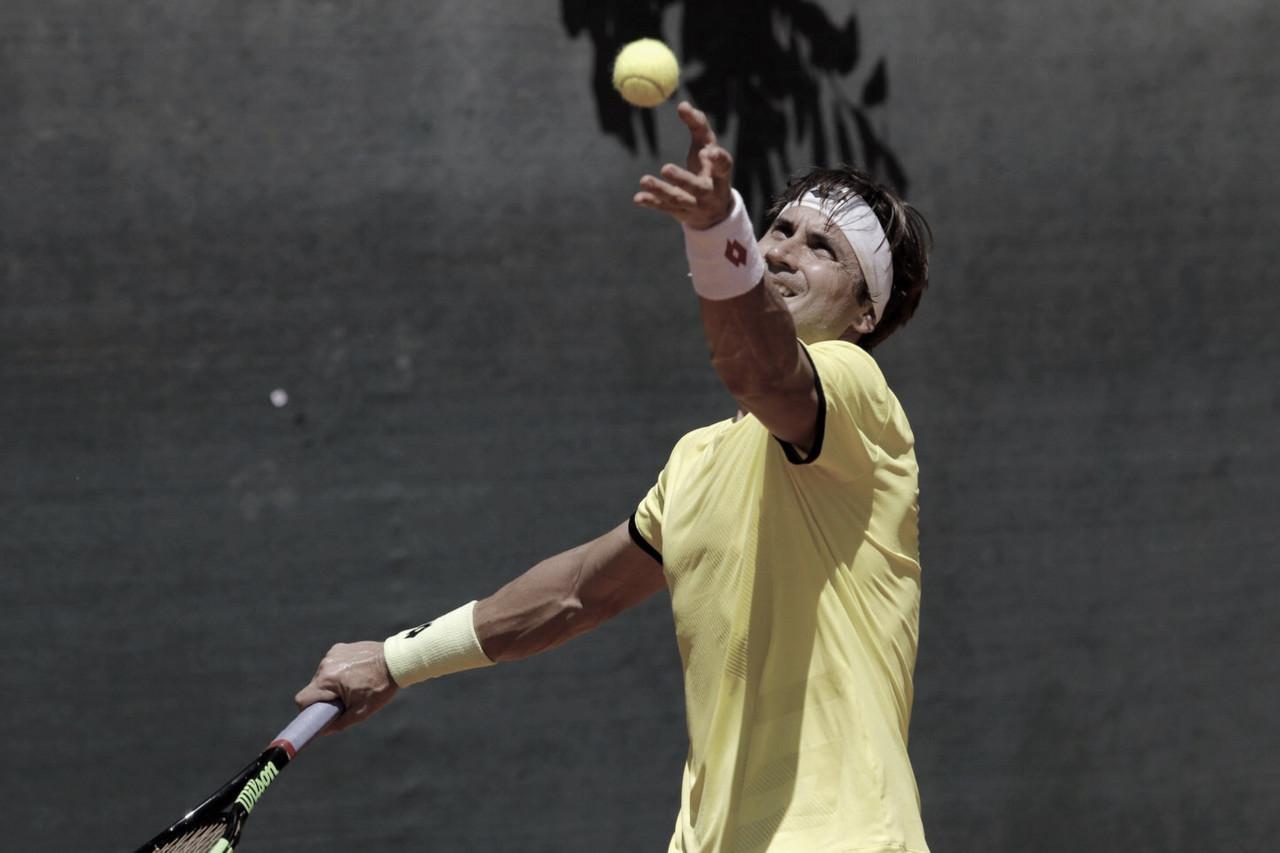 David Ferrer debutacon victoria en Buenos Aires