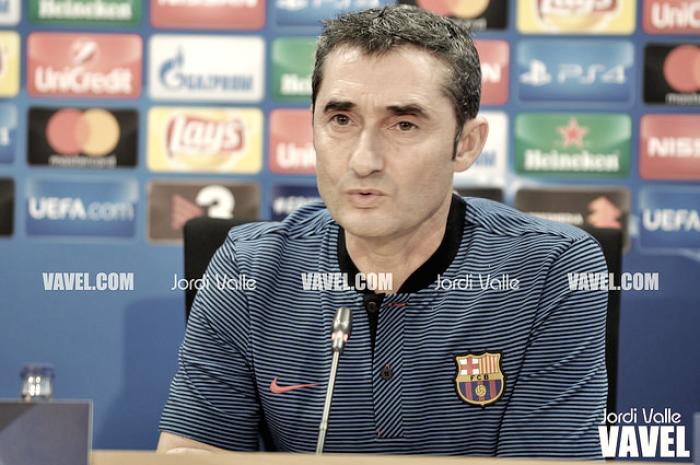 Ernesto Valverde: ''Me espero a la mejor Juventus''