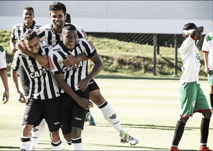 Atlético B goleia Betis-MG e marca inauguração de jogos profissionais na Cidade do Galo
