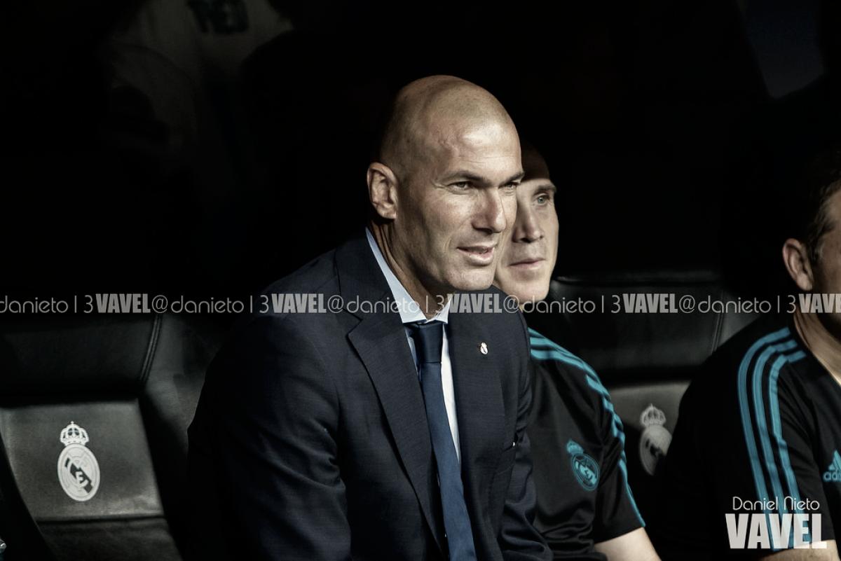 """Zinedine Zidane: """"Entiendo que Isco se quiera ir en enero, ha jugado pocos minutos"""""""