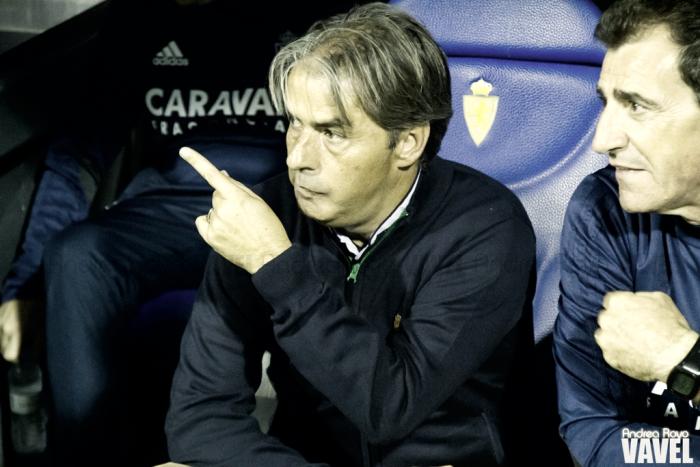 """Natxo González: """"Tenemos muchísimas ganas de ganar por nosotros y por nuestra afición"""""""