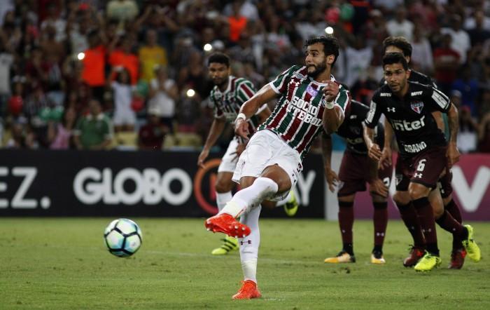 Henrique Dourado encerra 2017 como artilheiro do Campeonato Brasileiro