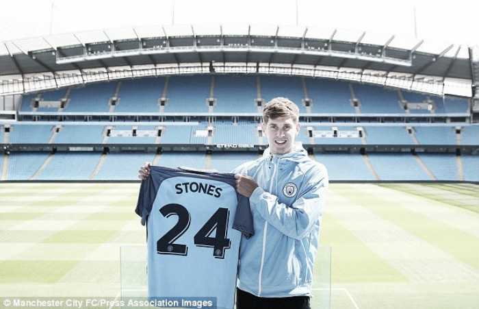 Stones wants trophies after Manchester City transfer