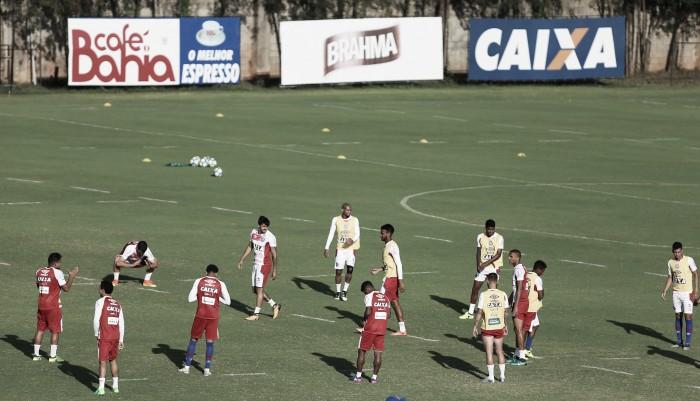 Com coletivo entre reservas, Bahia inicia preparação para duelo contra Palmeiras