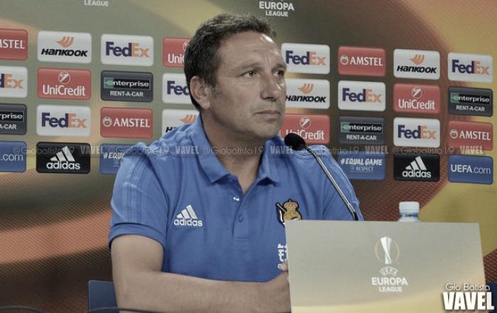 """Eusebio: """"Tendremos que exprimir al máximo nuestra calidad para mantener este nivel de juego y de resultados"""""""